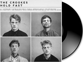 Image of  The Crookes - Hold Fast vinyl LP + Download Card