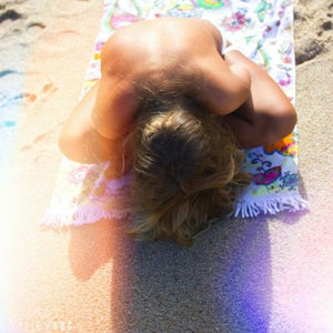 Image of Wandering Elephant Beach Towel