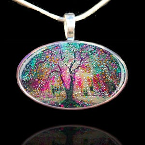 Image of The Creation Tree Pendant - Create your reality