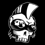 "Image of ""Victor Jr."" Punk mohawk skull shirt"