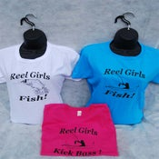 Image of Reel Girls Fish Classic Cotton T-Shirt