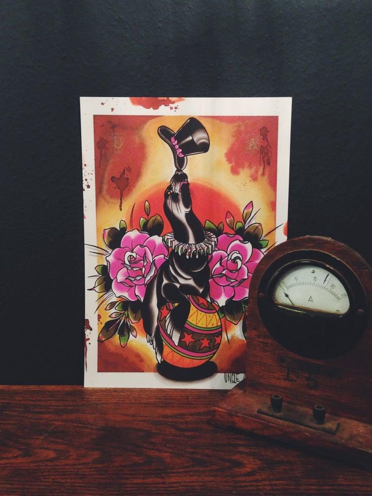 Image of Uncle Allan Sea Lion Print