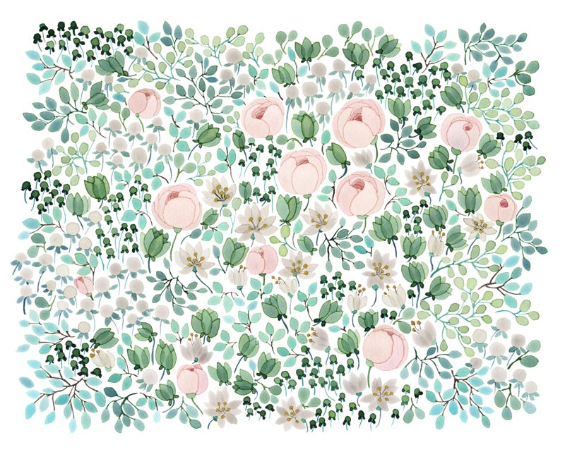 Image of May Bouquet -print
