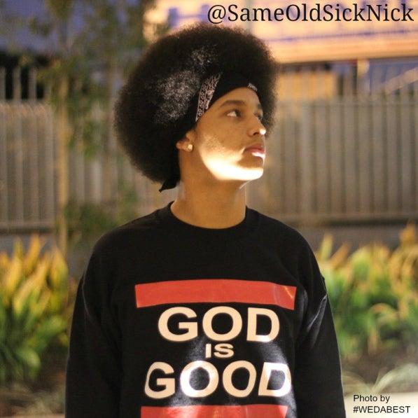 Image of GOD IS GOOD CREWNECK ........LOOK LOOK LOOK