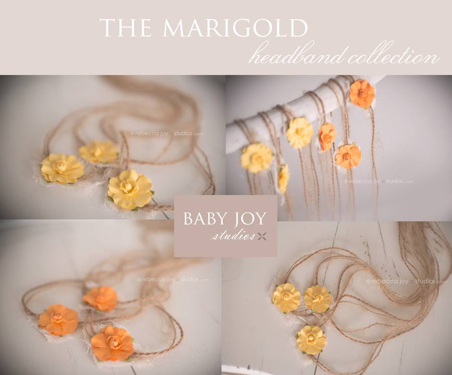 Image of {the Marigold} Headband. Available in 2 colours