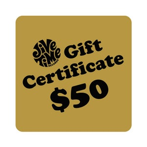Image of Jive Time Gold Gift Certificate