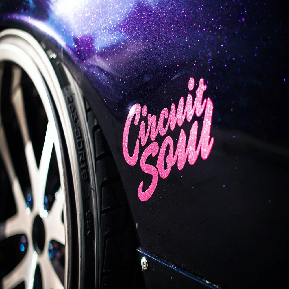 Image of Circuit Soul Brush Logo - Decal