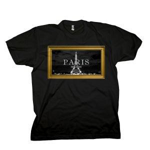 Image of Black 'Paris' Tee
