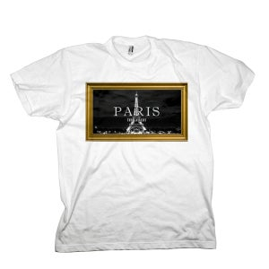 Image of White 'Paris' Tee