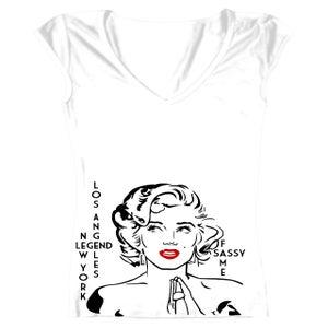 Image of 'Marilyn Monroe' Tribute Tee