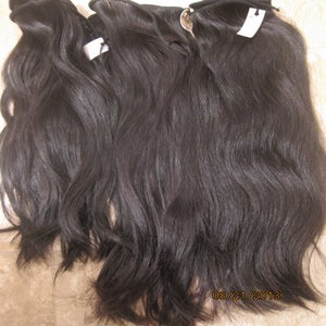 "Image of New Cambodian Straight 14""-20"" - Medium/Low Luster $400 Value"