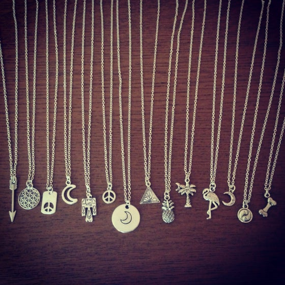 Image of Mini charm necklace
