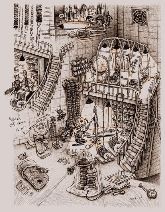 Image of Model of Plan of Man