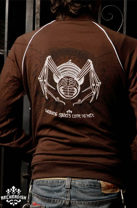 Image of Weaving Spiders (track jacket)