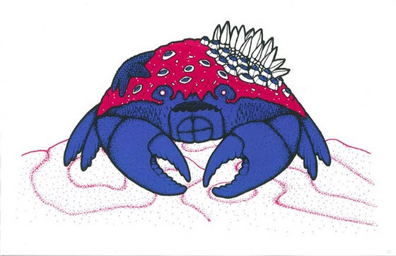 Image of Intertidal Scavenger (screen printed poster)