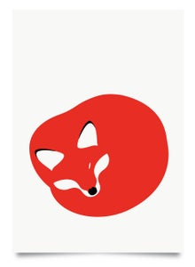 Image of Red Fox print