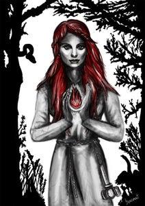 Image of Goddess Brigit