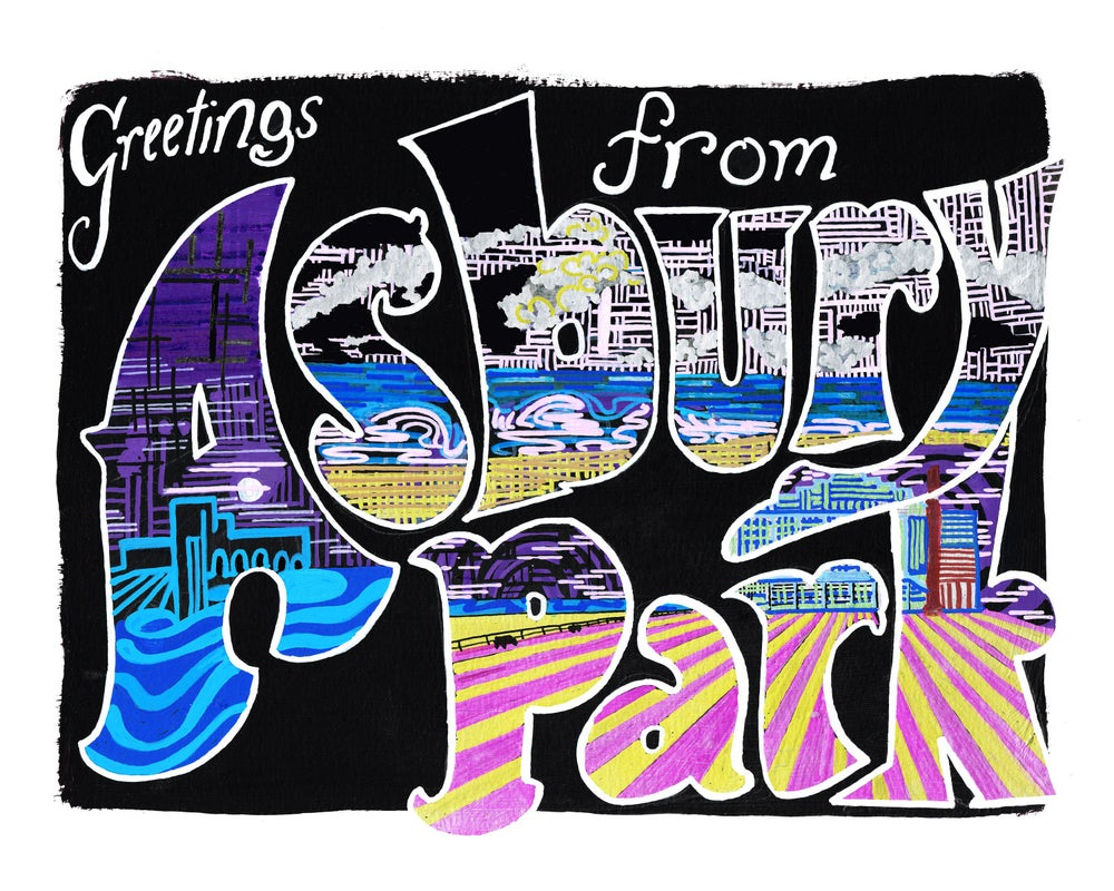 Image of Greetings From Asbury Park, Black