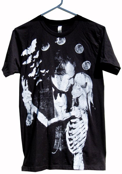Image of Vincent Price Dance of the Dead T-Shirt