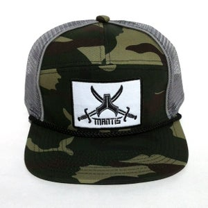 Image of SIGNATURE 5 PANEL CAMO SNAPBACK