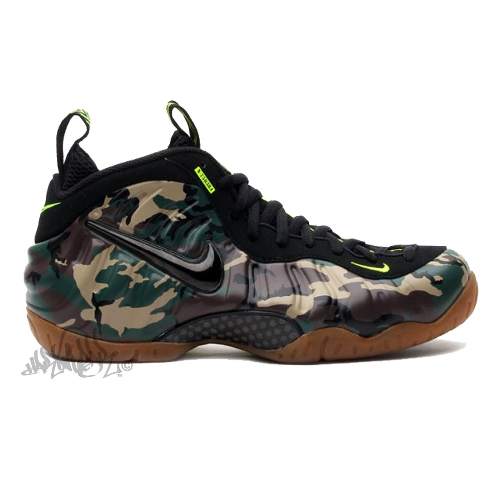 Image of AIR FOAMPOSITE PRO PRM LE - ARMY CAMO - 587547 300