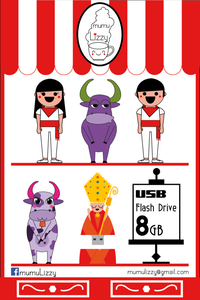 Image of USB Flash Drive 8Gb