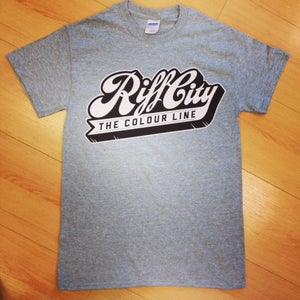 Image of 'Riff City' - Tee (Sports Grey)