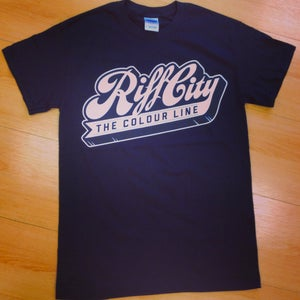 Image of 'Riff City' - Tee (Black)