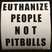 Image of Pitbull Sticker