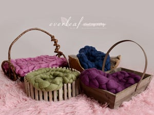Image of SALE! Bump Blanket & Braid - Photography Prop DIY Tutorial for newborn photographers