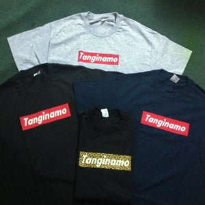"Image of ""TANGINAMO"" box logo shirt"