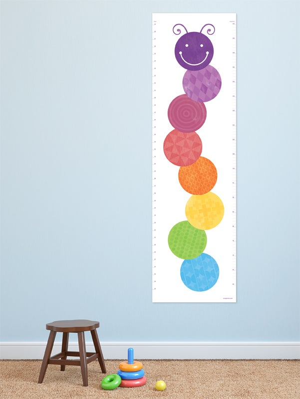 Image of Growth Chart - Caterpillar