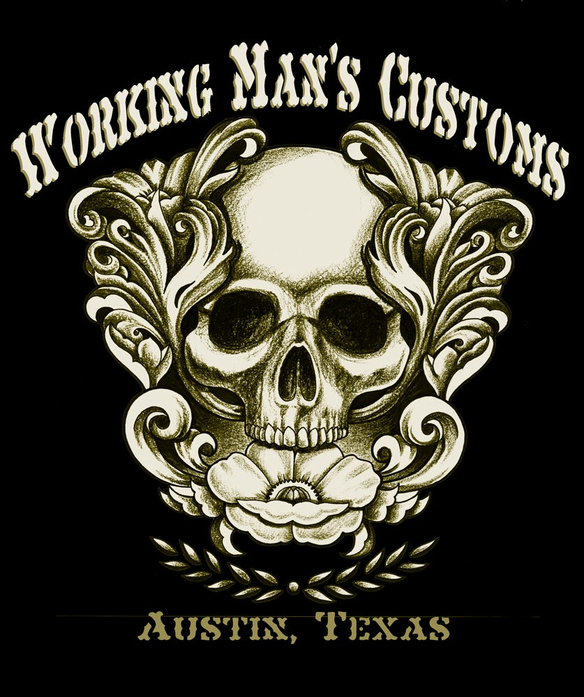 Image of Working Man's Customs shirt