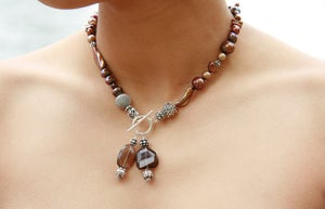 Image of Brown Freshwater Pearl Necklace