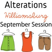 Image of Alterations 101 - September