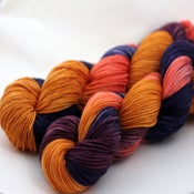 Image of Black Amber - Superwash Merino DK Yarn