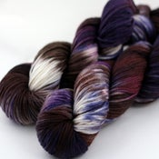 Image of Blackberry Truffle - Superwash Merino DK Yarn