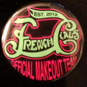 Image of Official Makeout Team - Button 2.75""