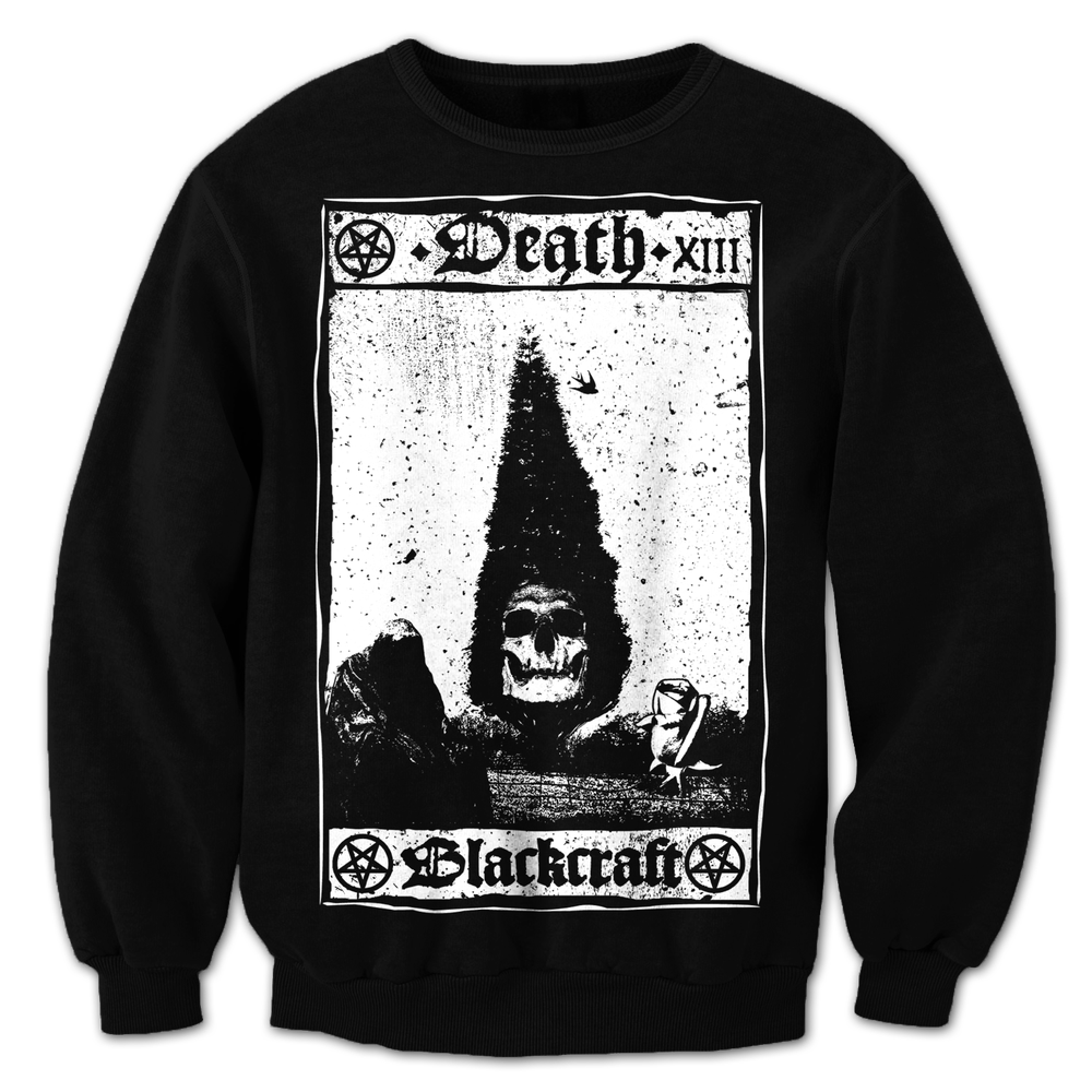 Image of Death Card - Crewneck Sweater