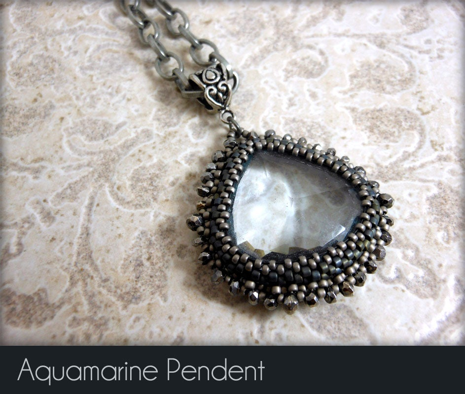 Image of Aquamarine Pendant