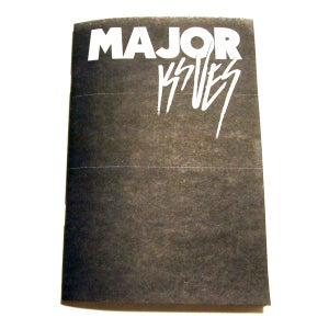 Image of Major Issues Zine