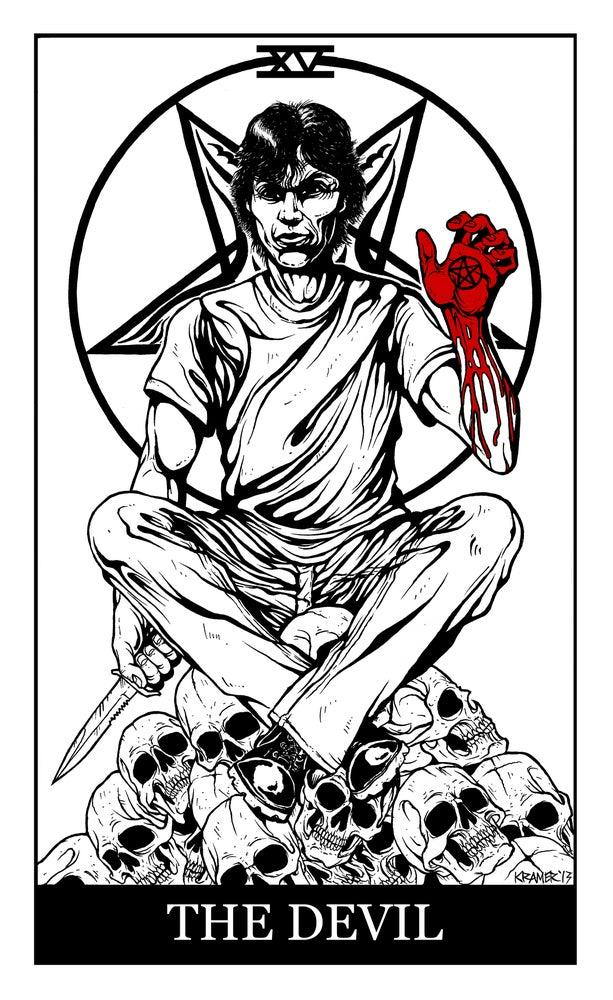 """Image of D.I.E. Richard Ramirez """"The Devil"""""""