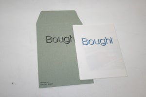 Image of Bought | Written by Toby de Angeli & Illustrated by Nichol Keene