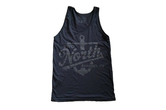 Image of Anchor Tank // Black on Black