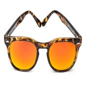 Image of Memento Audere Semper  Tortoise / Orange Mirror