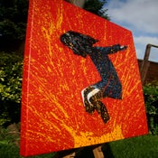"Image of ""SplashBack"" Canvas Edition - Red"