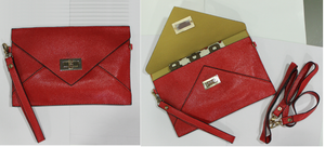 Image of Red Envelope Clutch