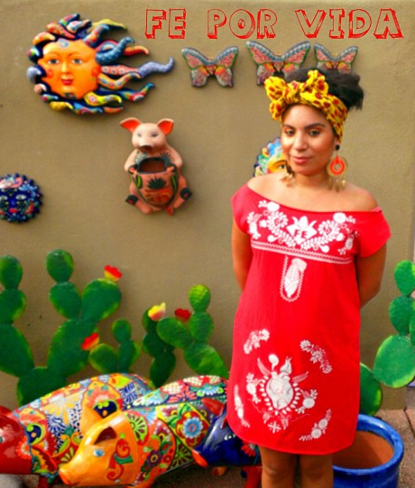 Image of FE DRESS - MeXicana Anahuac