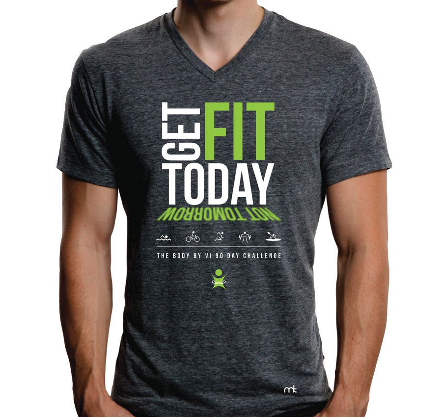 "Image of BBV Tee - ""Get Fit Today, Not Tomorrow"""