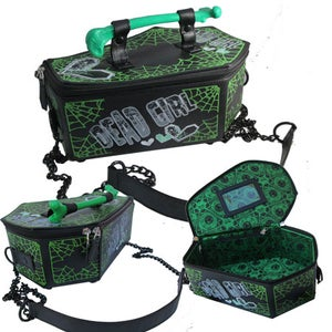Image of Kreepsville coffin handbags